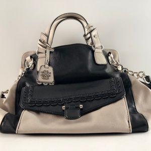 Jessica Simpson Black/Cream Bag